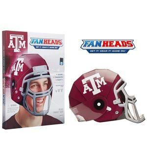 4 A&M Fan Head Helmets